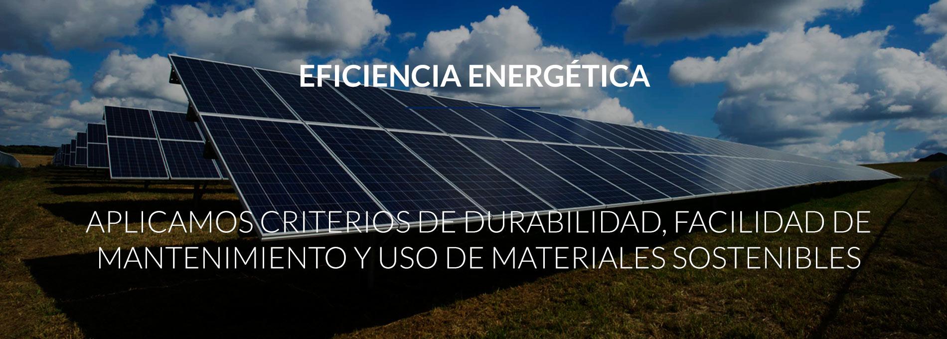 eficiencia energetica sostenibilidad